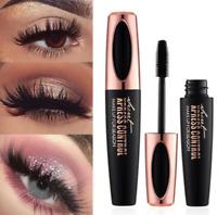 4D Silk Fiber Eyelash Mascara Waterproof Extension Makeup Kit Eye Lashes Black