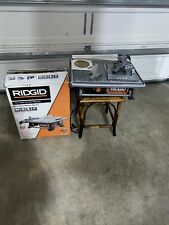 Ridgid 6.5 Amp Corded 7 in. Table Top Wet Tile Saw ( Used & Tested)
