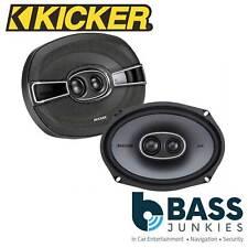"KICKER KSC6934 3 Way 6x9"" inch 300 Watts a Pair Car Van Parcel Shelf Speakers"