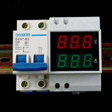 D52-2042 AC 80-300V Digitial LED MultiFunction Meter Voltmeter Ammeter Use S3W9