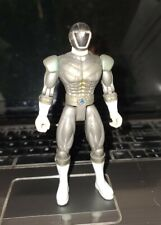 1999 Bandai silver Action Figure 5.5 Inch power rangers light speed