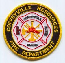"White City  Fire fire patch Kansas Rescue 3.5/"" x 4.5/"" size"