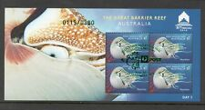 Australia Stamps - Limited Edition M/S # 119/300 - 2018 Great Barrier Reef Macau