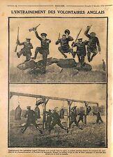 Volunteers Maneuvers Tommies Soldiers  British Army England UK WWI 1914