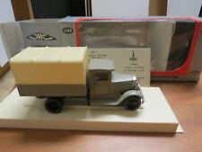BIG SALE USSR Russian Truck 1/43 Truck #37 LOMO ZIS-5 Tent Gray white  RARE!