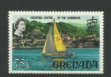 Grenada 1968 Sg 317A Yacht in Harbour 75c Multicoloured, LM/M [1258]