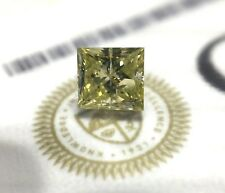 .70CT Princess Fancy Yellow GIA Certified Loose Diamond 4 Engagement Ring NEW!