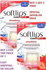 BUY 1 GET 1 FREE SOFTLIPS 5 IN 1 LIP BALM CUBE WITH SPF15 STRAWBERRY