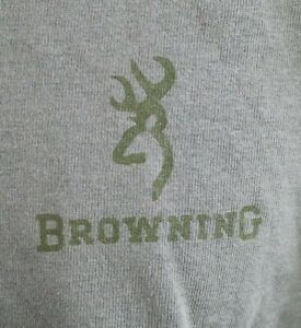 Browning Sporting Goods | T-Shirt | Men's | Double Sided | Brown | size: XL
