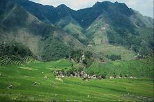737098 Village 2000 m de altura en las montañas Filipinas A4 Foto Impresión
