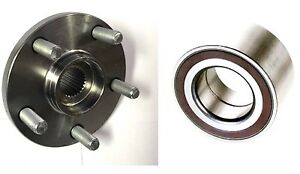 REAR WHEEL HUB & BEARING FOR 2008-2014 LAND ROVER LR2 LH RT 1SIDE  FAST SHIPPING