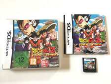 Dragon Ball Z Attack of the Saiyans in OVP - Nintendo DS DSi XL 3DS XL 2DS