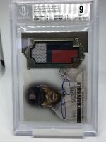 2019 Topps Dynasty Chris Sale 3 Color Patch Auto 1/10 BGS 9 /10