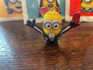 McDonalds Happy Meal Toy UK 2020 Minions Rise Of Gru Figure - REFEREE MINION
