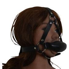Masque de bondage type baillon fetish BDSM domina NEUF