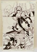 Gen 13 #65 Page 14 - Original Comic Page Art by Kaare Andrews - Wildstorm 2001