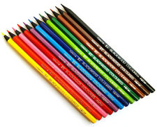 12 Coloured Pencils in Blackwood. Excellent colouring results. Great for Art.