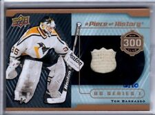 2015-16 Upper Deck A Piece Of History 300 Win Club #/10 PATCH Tom Barrasso WOW!