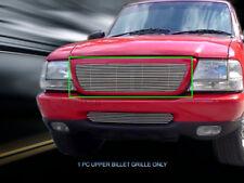 For 1998-2000 Ford Ranger Replacement Billet Grille Upper Grill Insert Fedar