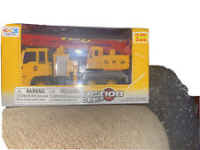 NWT CRANE TRUCK TOY CONSTRUCTION VEHICLE FRICTION POWERED