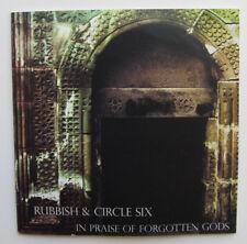Noise music split Rubbish/Circle Six 2007 In Praise of Forgotten Gods 2 CDr mini