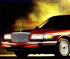 1997 LINCOLN TOWN CAR FACTORY BROCHURE -EXECUTIVE-SIGNATURE-LINCOLN TOWN CAR