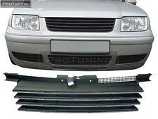 VW BORA 98-05 Front Black ABS Badgeless Debadged Grill Gitter JETTA grille