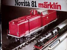 Catalogo MARKLIN 1981 novità scala H0 - ITA - Tr.11