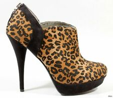 new GUESS 'Kalia' animal-print platforms ANKLE BOOTS heels shoes 6.5 - SEXY
