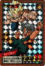 Bandai Dragon ball Dragonball Z Prism Card Carte Power level 8 n° 320