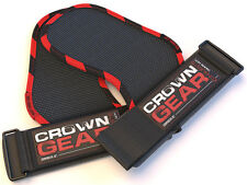 Weight Lifting Hook Straps Grips Pads Gym Training Gloves Wrist Support Wraps