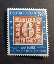 Bund 115** 100 J. Briefmarken AF 0115-01 geprSchlegel
