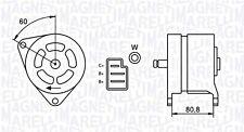 Lichtmaschine Generator für AUSTIN FORD Capri LAND ROVER 1.0-2.8L 63-