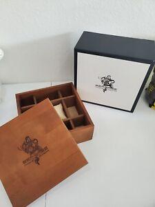 Invicta Seabase display Watch Box wood brand