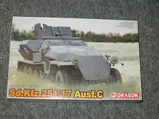 Dragon 1:35 Sd.Kfz.251/17 Ausf.C Model Kit #6395 '39-'45 Series NEW