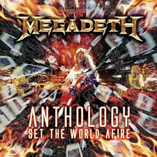 Megadeth Anthology-Set The World Afire 2-CD NEW SEALED Metal Anarchy In The UK+