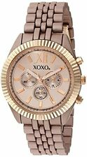 XOXO Women's Quartz Metal and Alloy Automatic Watch, Color:Rose Gold-Ton...