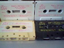 JEM 1986 cassette tapes mini lot VIDEO,CLASH,RAYA and AJA