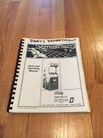 Bally Astron Belt Video Arcade Game Parts And Operating Manual, 1983