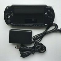 Sony PSP 1000 Black PlayStation Portable + Charger - Refurbished New Shell
