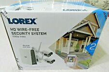 Lorex Security System 2 1080p Bullet Cameras And DVR With 32GB MicroSD Card, New