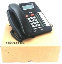 NORTEL T7208 CHARCOAL NEW  1 YEAR WARRANTY  NT8B26