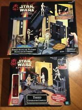 Star Wars Episode 1 Theed Generator Complex & Theed Hanger Playset Battle Droid