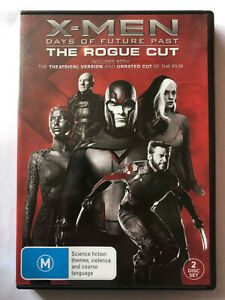 X-MEN DAYS OF FUTURE PAST, THE ROGUE CUT. 2 DISC SET   DVD