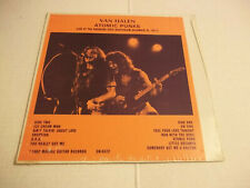 Van Halen – Atomic Punks (1977) rare live LP Not Tmoq SEALED