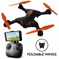 F111 Phoenix Foldable Wi-Fi FPV Drone with Camera Live Video Capability – Force1
