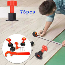 75Pcs/Set Tile Locator Reusable Anti-Lippage Leveling System Ceramic Floor Wall