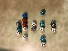 Magic: the Gathering assorted D20 dice lot MTG