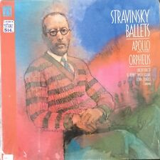 STRAVINSKY-BALLETS-APOLLO-ORPHEUS-ORIGINAL 1982 NONESUCH H-71401 VINYL LP-SEALED