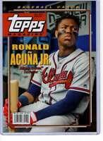 Ronald Acuna Jr. 2019 Topps Archives Magazine 5x7 #TM-6 /49 Braves